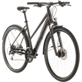 Cube Nature Allroad Trapez, iridium/blue